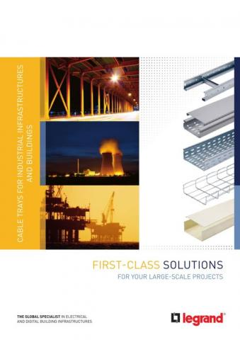 Cable trays for industrial infrastructures and buildings brochure