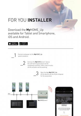 MyHome Up brochure: welcome to simplicity!